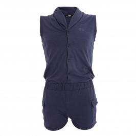 Sleeveless boysuit - blanc - ES COLLECTION SP257-C09