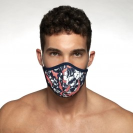 Flowery mask - ES COLLECTION AC097-C01