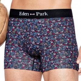 Boxer Eden park fleuri - bordeaux - EDEN PARK E644G65-D85