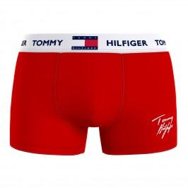 Boxer motif signature - rouge - TOMMY HILFIGER UM0UM01832-0GQ