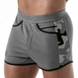 Short Camo Gym Grey - TOF PARIS TOF144G