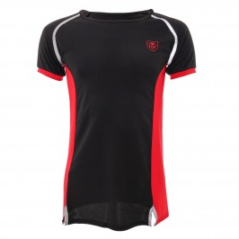 T-Shirt Total Protection Black/Red - TOF PARIS TOF143NR