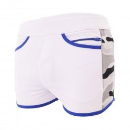 Short Camo Gym Blanc - TOF PARIS TOF144B