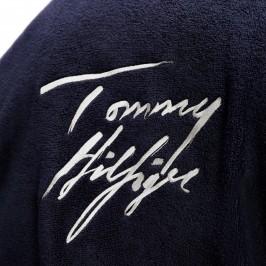 Peignoir à logo signature - marine - TOMMY HILFIGER UM0UM01781-DW5 - per