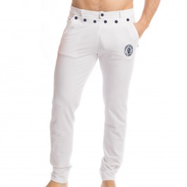 Matelot - White Trousers - L'HOMME INVISIBLE HW160-MAT-002