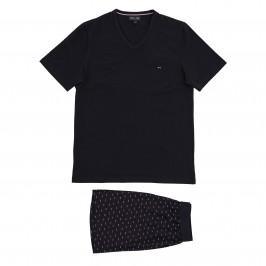 Pyjama court Eden Park - marine - EDEN PARK E526E76-039