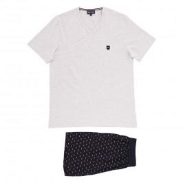 Pyjama court Eden Park - marine - EDEN PARK E526E76-169