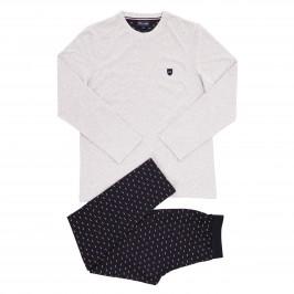 Pyjama long Eden Park - marine - EDEN PARK E501E76-169