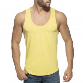Débardeur U-neck Cotton - jaune - ADDICTED AD997-C03