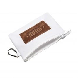 Porte monnaie / clefs Jean - blanc - ES COLLECTION AC143-C01