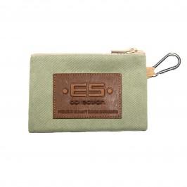 Porte monnaie / clefs Jean - vert - ES COLLECTION AC143-C18