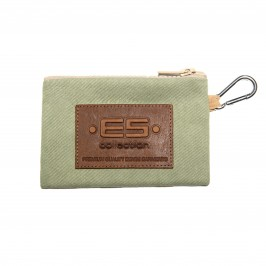 Porte monnaie / clefs Jean - blanc - ES COLLECTION AC143-C18