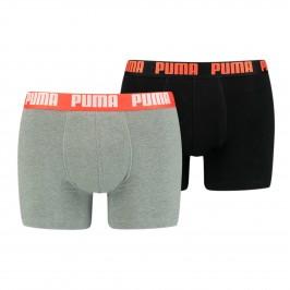 Lot de 2 boxeurs Basic - gris et noir - PUMA 521015001-305
