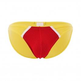 Mini slip The Popular - rouge/bleu - MODUS VIVENDI 09112-RED-YELLOW