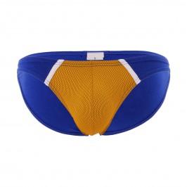 Mini slip The Popular - jaune/bleu - MODUS VIVENDI 091112-YELLOW-BLUE