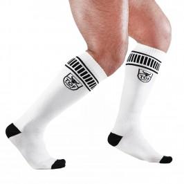 Footish Socks White/Black - TOF PARIS S0001BN