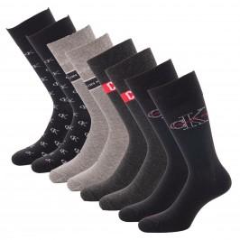 Coffret de 4 paires de chaussettes avec logo CK - CALVIN KLEIN 100004808-001