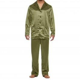 Pyjama Core Satin - kaki - MODUS VIVENDI 21652-KHAKI