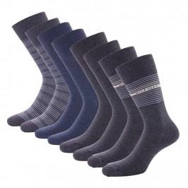 4-Pack Gift Box Stripe Socks - jeans - TOMMY HILFIGER 701210548-003