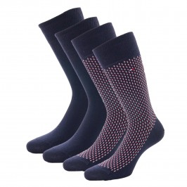 Lot de 2 paires de chaussettes - navy - TOMMY HILFIGER 701210536-002