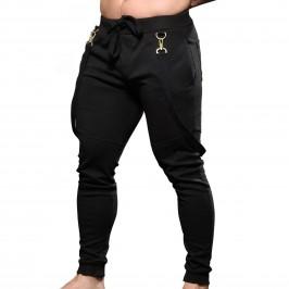 Troop Suspender Pants - ANDREW CHRISTIAN 6642-BLK