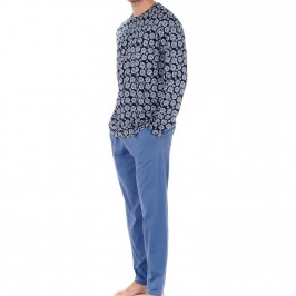 Riviera Long Sleepwear - HOM 402243-P0RA
