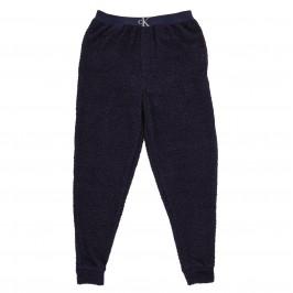 Pantalon de jogging d'intérieur peluche CK - navy - CALVIN KLEIN NM2138E-8SB