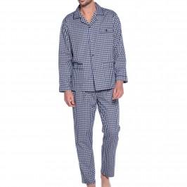 Pyjama Ouvert Tela à carreaux - bleu - GUASCH PC141-809