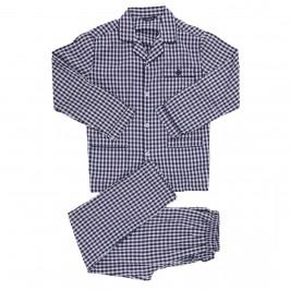 Tela Open Checkered Pyjamas - Blue - GUASCH PC141-809