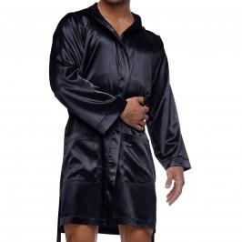 Peignoir Core Satin - noir - MODUS VIVENDI 21651-BLACK