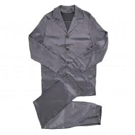 Pyjama Core Satin - gris - MODUS VIVENDI 21652-GREY