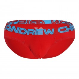 Almost Naked Bamboo Brief - ANDREW CHRISTIAN 92149-RED
