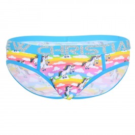 Flying Unicorn Brief w/ Almost Naked - ANDREW CHRISTIAN 92208-MULTI